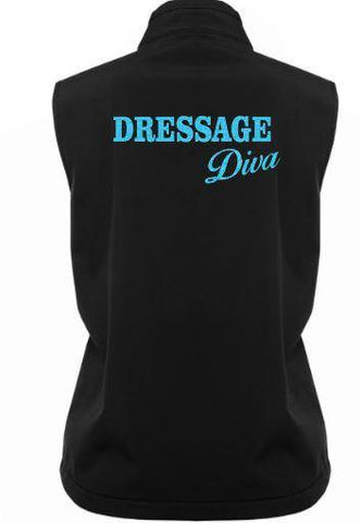 Dressage diva soft shell vest