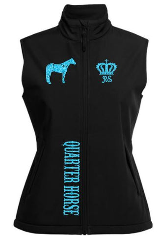 Quarter-Horse-Design-Soft-Shell-Vest