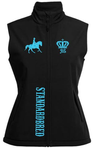 Standardbred-Design-Soft-Shell-Vest