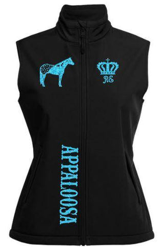 Appaloosa-Design-Soft-Shell-Vest