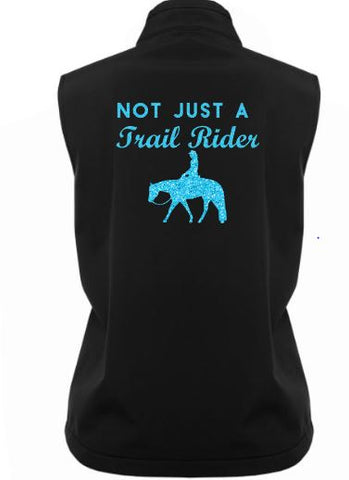 Not just a trail rider soft shell vest