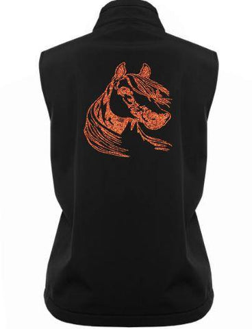 Detailed-Horse-Head-Design-Soft-Shell-Vest