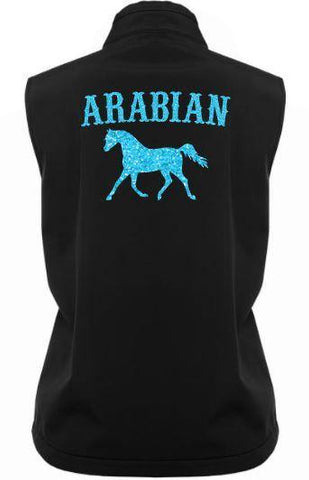 Arabian-Trot-Design-Soft-Shell-Vest