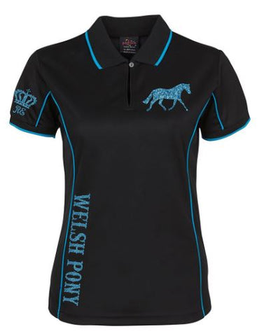 Welsh pony polo shirt Unisex sizes