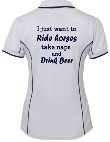 I-Just-Want-To-Ride-Take-Naps-And-Drink-Beer-Design-Polo-Shirt