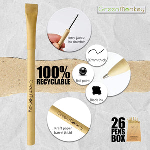 Green Monkey Eco-Friendly Pens