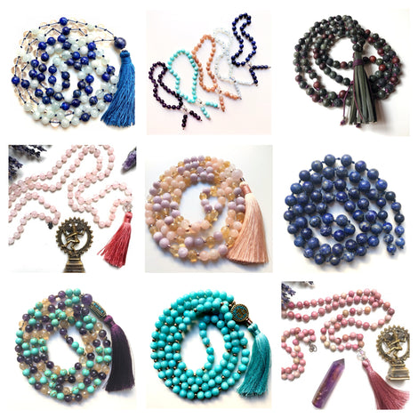 Mala Beads Necklaces