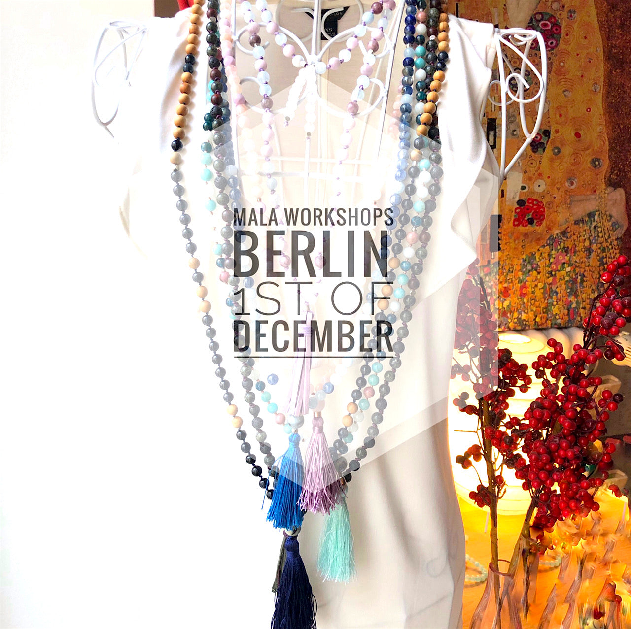Create Your Own Gift: Mala Beads Workshop, 1st of December, Berlin