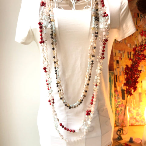 Custom Tantric Mala Necklaces