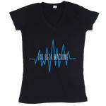 The Beta Machine - Black Heartwave Ladies T-Shirt
