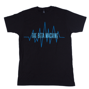 The Beta Machine - Black Heartwave T-Shirt