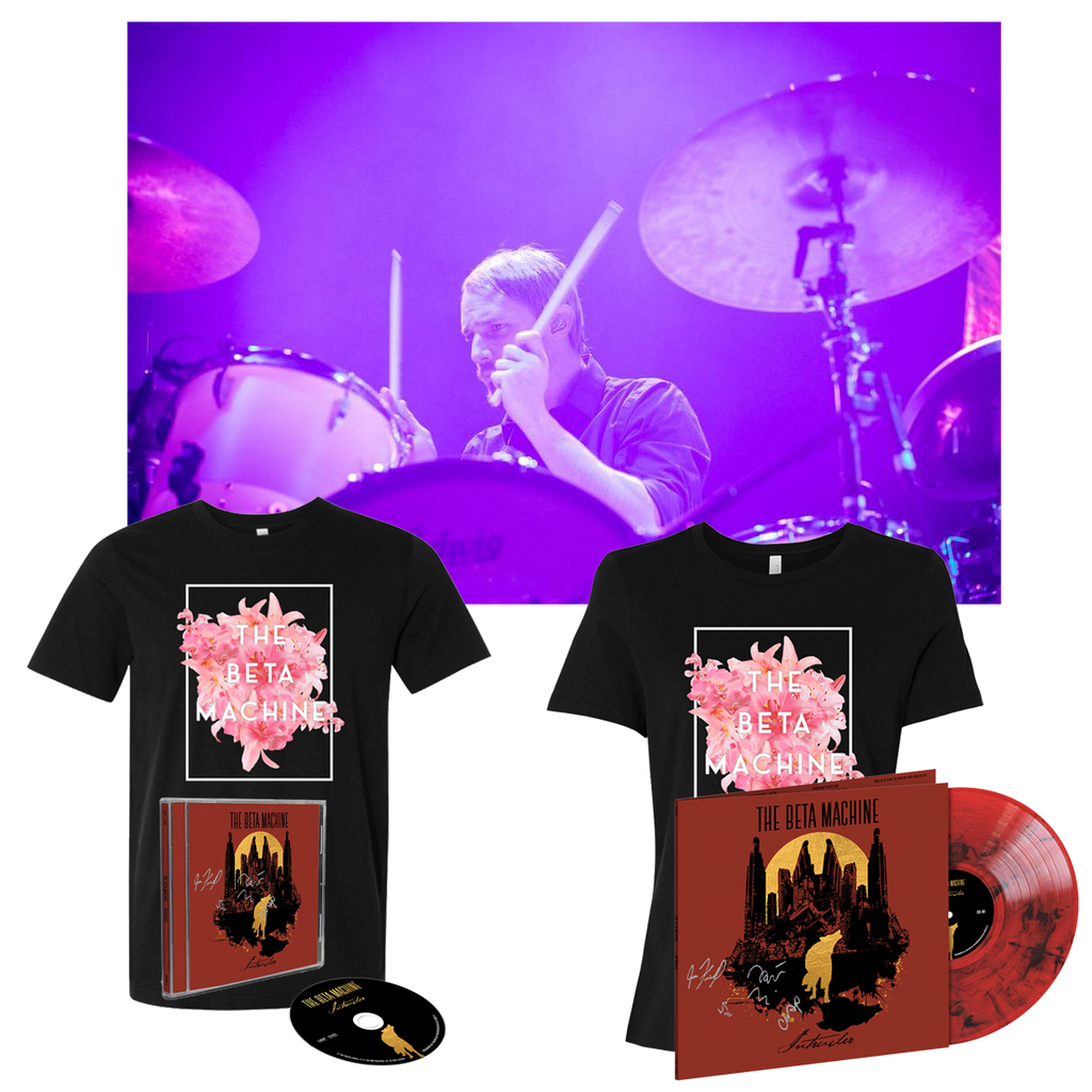 PRE-ORDER: TBM - 30-Minute Drum Lesson, Bouquet T & SIGNED Album Bundle