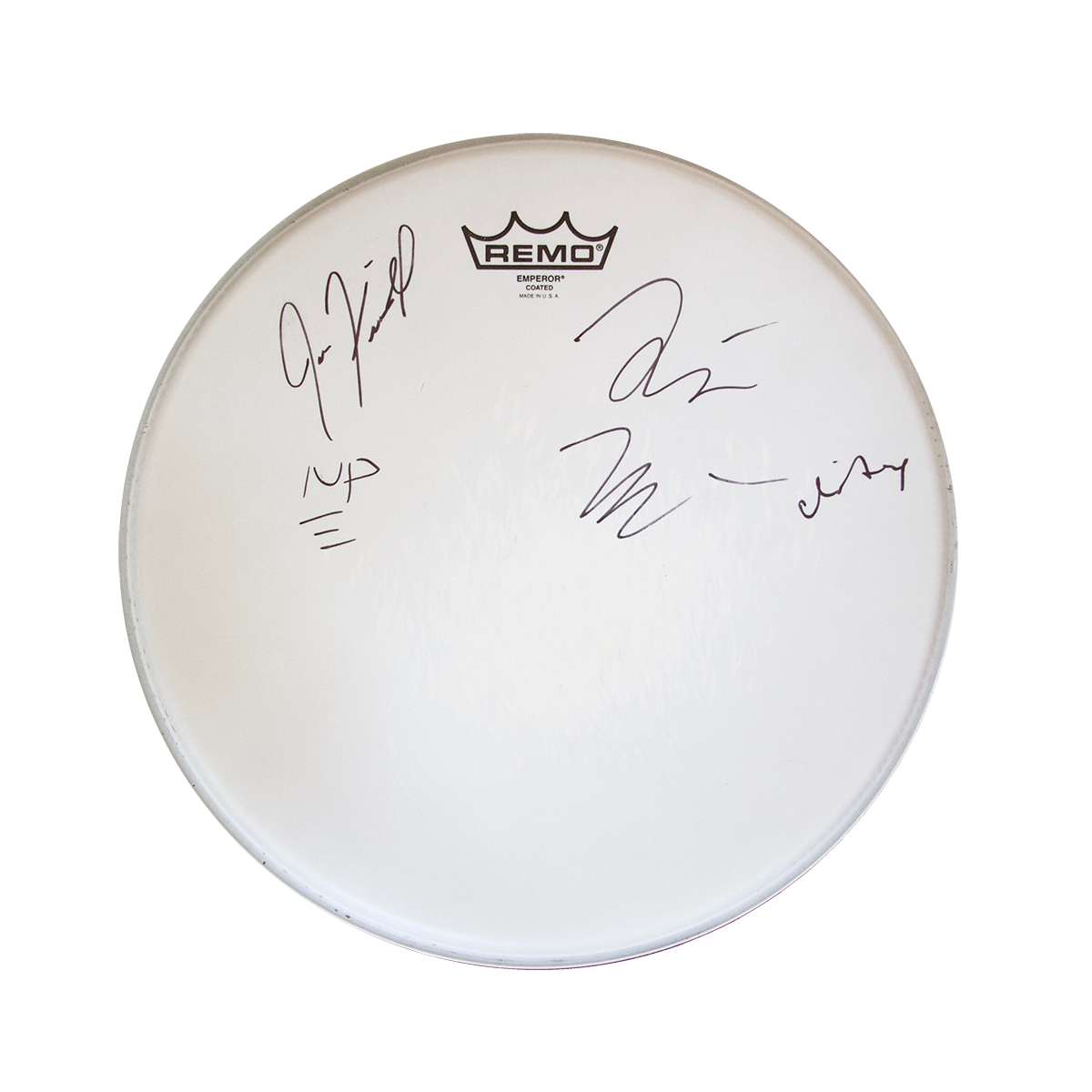 The Beta Machine - Show-Used Drumhead (Signed)