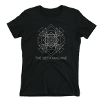 The Beta Machine - Geometry Ladies T-Shirt