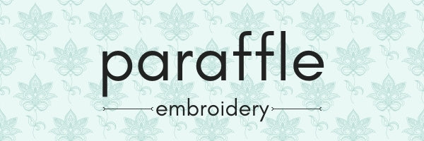 Paraffle Embroidery Logo