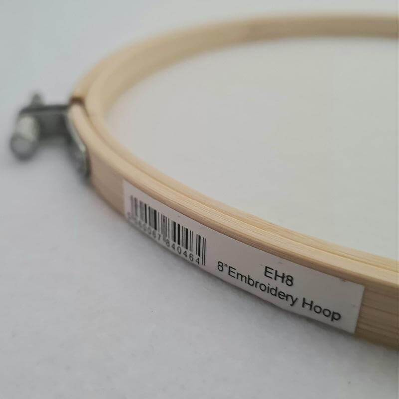 Paraffle Embroidery Supplies & Accessories Bamboo Embroidery Hoop - 8 inches