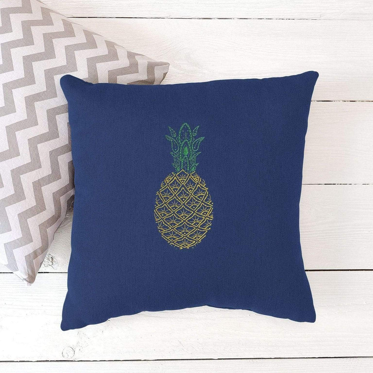 Paraffle Embroidery Cushion Embroidery Kit Pineapple Cushion Kit & Pattern