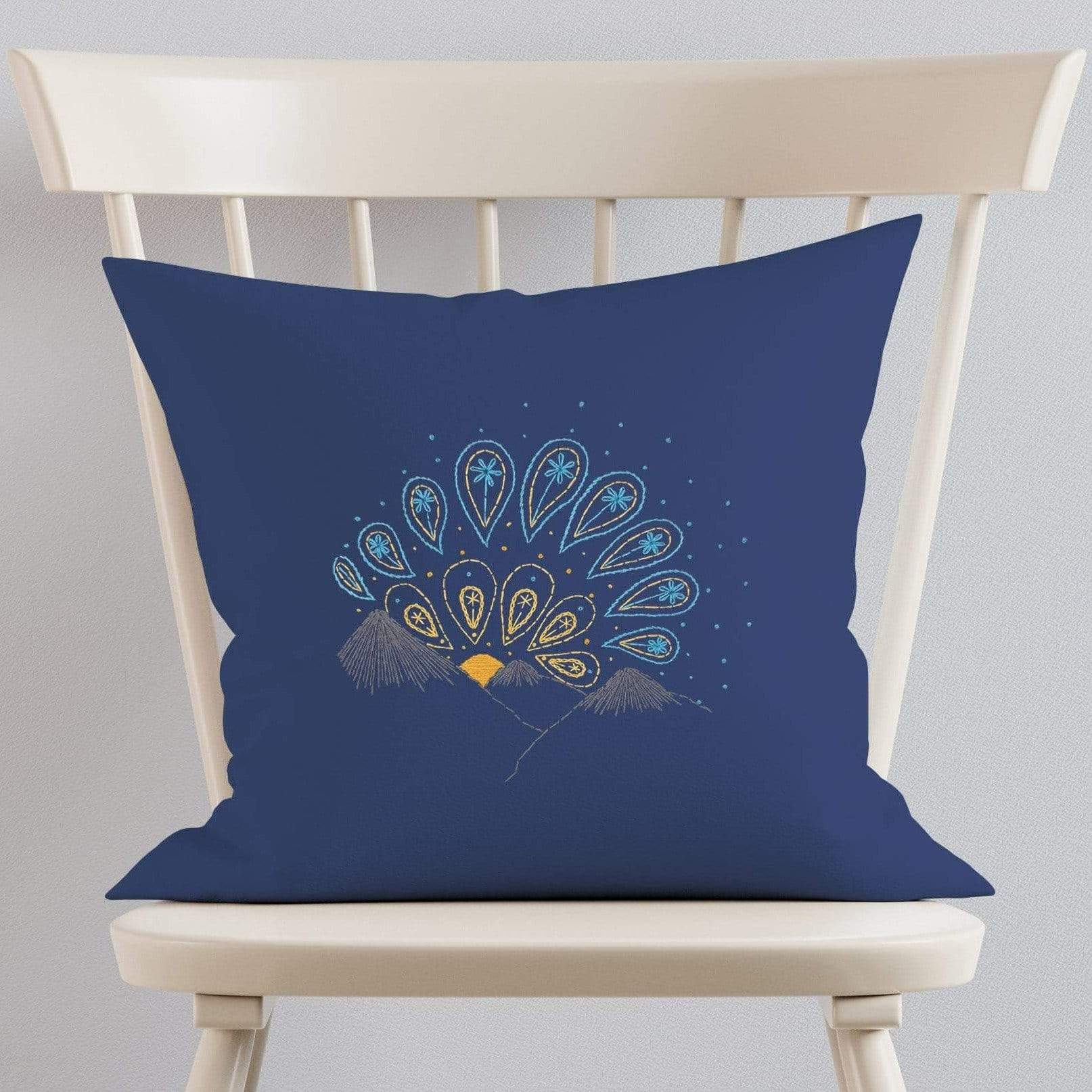 Paraffle Embroidery Cushion Embroidery Kit Sunrise Cushion Kit & Pattern