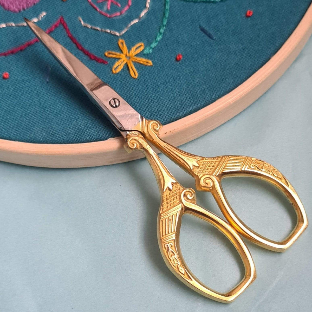 Paraffle Embroidery Supplies & Accessories Vintage Style Embroidery Scissors