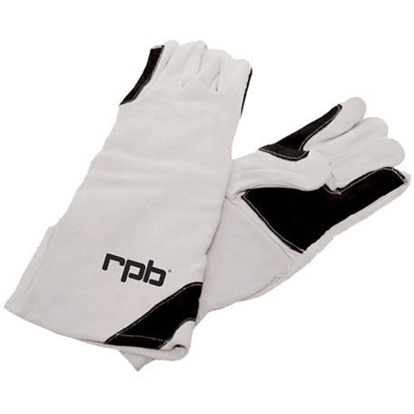 Double Palm Leather Blasting Gloves