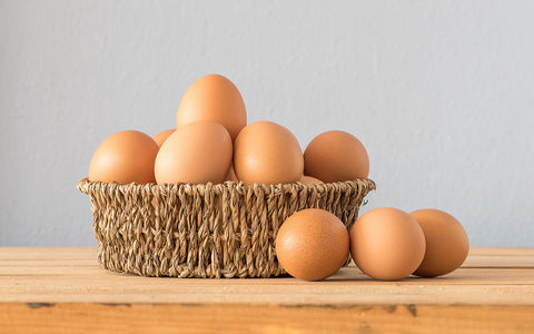 How are the Free range country chicken eggs different?