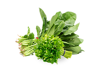 Organic Leafy Vegetables