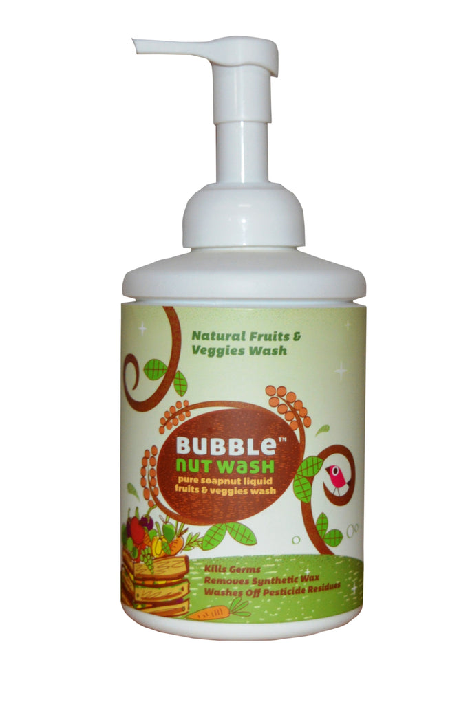 Bubble Nut Wash - Fruits and Veggies Wash