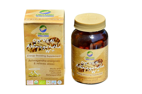 Organic Wellness - Heal Ashwagandha W Plus 90C