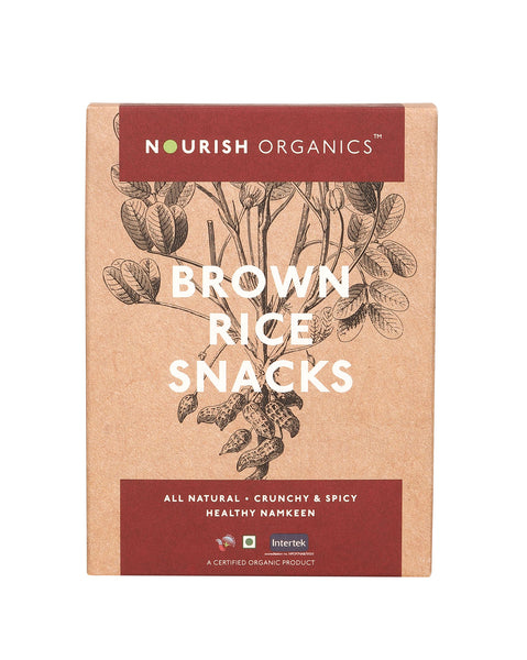 Nourish Organics - Brown Rice Snacks 150g