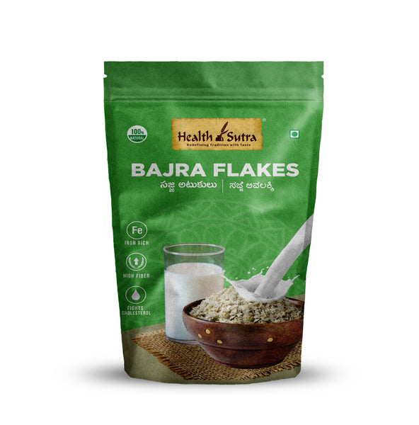 Health Sutra - Bajra Flakes / Poha 250g