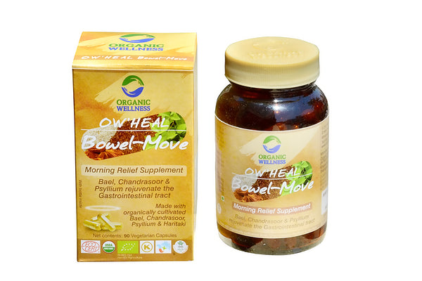 Organic Wellness - Heal Bowel Move 90C