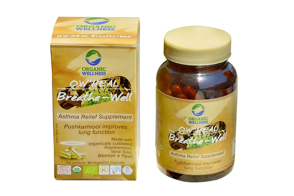 Organic Wellness - Heal Breath Well 90C