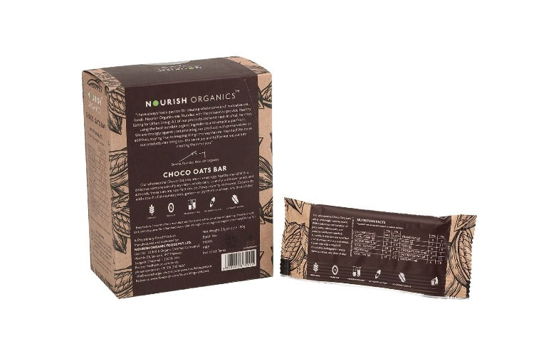 Nourish Organics - Choco Oats Bar 30g (Pack of 6)