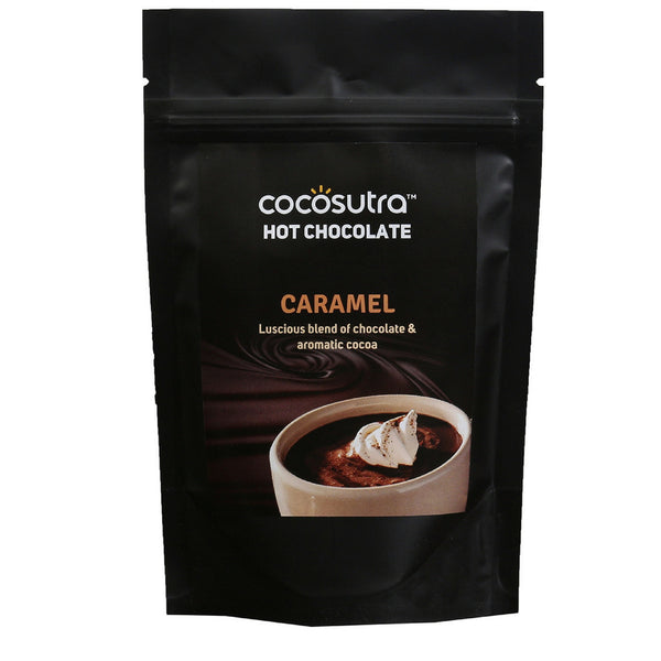 COCOSUTRA  Hot Chocolate Blend - Caramel, 100g