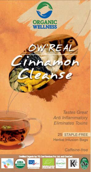 Organic Wellness - Real Cinnamon Cleanse Tea Bags