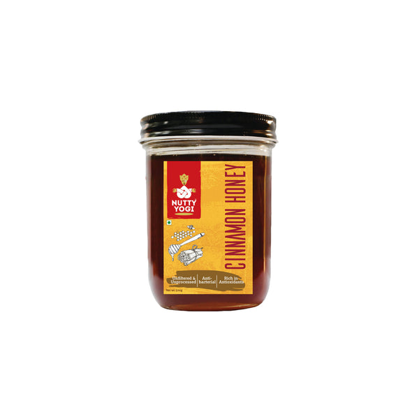 Nutty Yogi Cinnamon Honey 400g