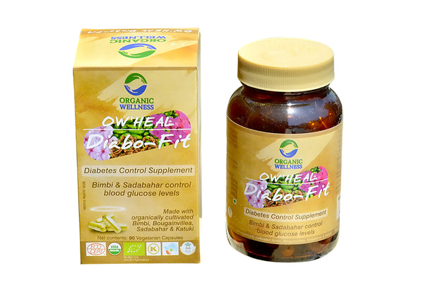 Organic Wellness - Heal Diabo Fit 90C