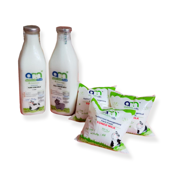 Absolute Milk's COW' Milk 1ltr