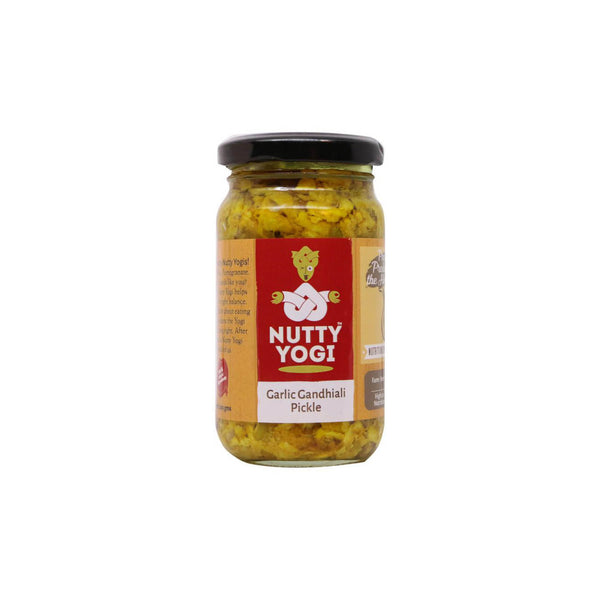 Nutty Yogi Garlic Gandhiali Pickle 200gm