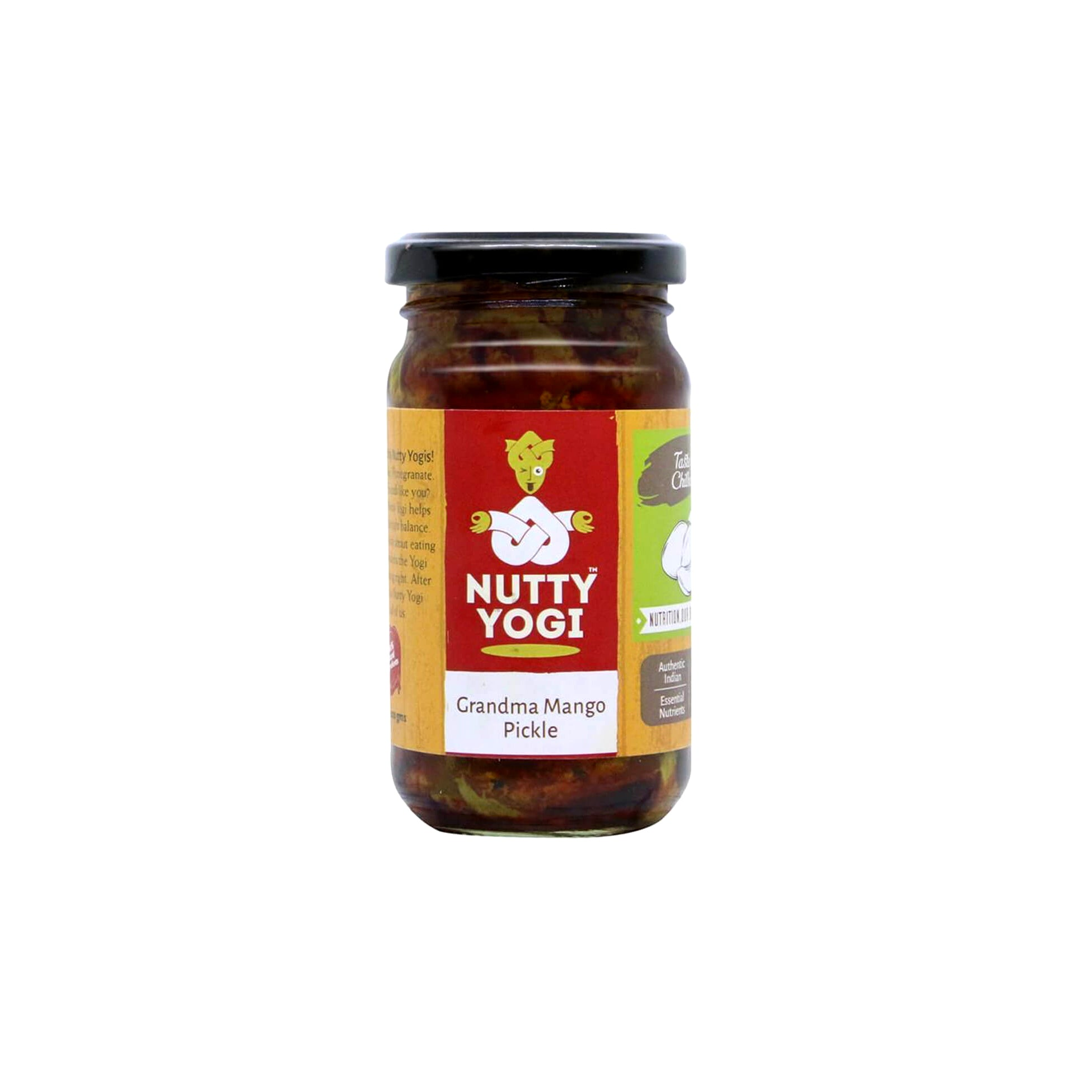 Nutty Yogi Grandma Mango Pickle 200gm