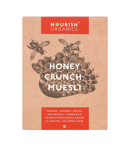 Nourish Organics - Honey Crunch Muesli 300g