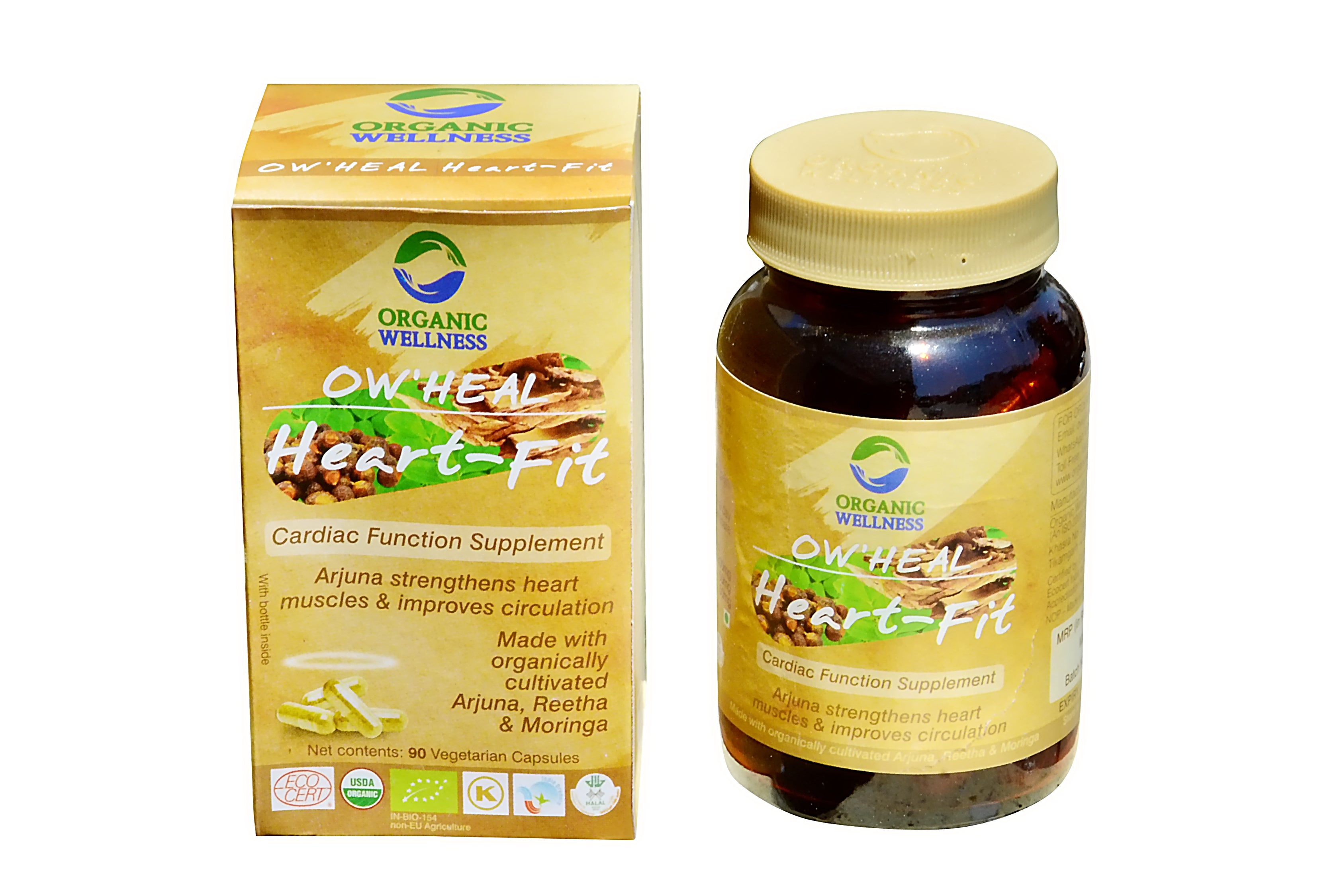 Organic Wellness - Heal Heart Fit