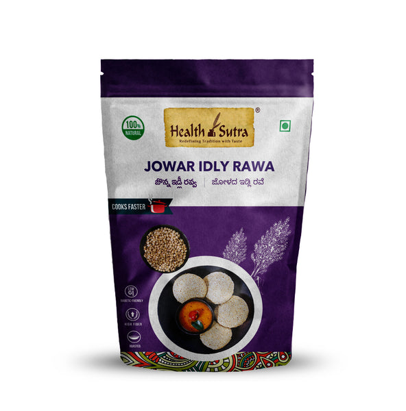 Health Sutra - Jowar Idly Rawa Roasted 500g