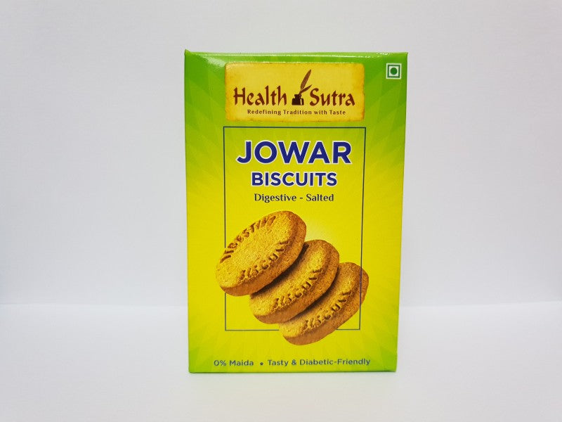 Health Sutra - Jowar Biscuits 100g