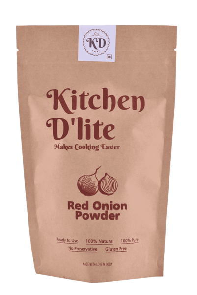 Kitchen D'lite - Red Onion Powder Dry 150g