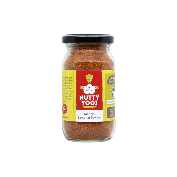 Nutty Yogi Madras Sambhar Powder 125gm