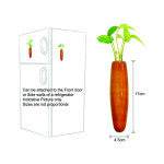 Maya Organic's Fridge Vase Brown