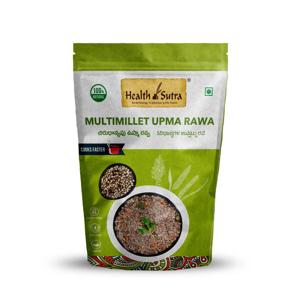 Health Sutra - Multi Millet Upma Rawa Roasted - 500g