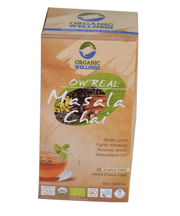 Organic Wellness - Real Masala Chai Tea Bags