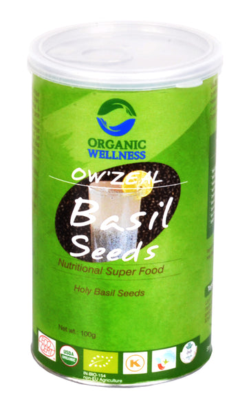 Organic Wellness - Zeal Basil Seeds